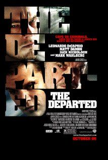 """The Departed"" - Directed by Martin Scorsese. With Leonardo DiCaprio, Matt Damon, Jack Nicholson, Mark Wahlberg. An undercover cop and a mole in the police attempt to identify each other while infiltrating an Irish gang in South Boston. Leonardo Dicaprio, Martin Scorsese, Jack Nicholson, Movies And Series, Movies And Tv Shows, See Movie, Movie Tv, Movie Club, Epic Movie"