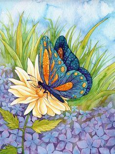 Gorgeous Butterfly ~ Jordan Lynn Gribble