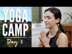 Video - Yoga Yoga Camp Day 5 - I Am Alive Fitness & Diets : Move it Or Lose It source for fitness Motivation & News Yoga Sequences, Yoga Poses, Pilates, Yoga For Mental Health, Push Day, Free Yoga Videos, 30 Day Yoga, Yoga With Adriene, Yoga For All