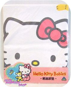Hello Kitty Baby Diaper Mat Changing - so clever Hello Kitty Baby Shower, Hello Kitty Kitchen, New Baby Girls, Baby Love, Punk Princess, Little Twin Stars, Changing Pad, Baby Items, Little Ones