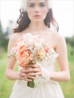 Romantic bouquet by PETALOS shot by Jon Duenas for Something Borrowed Portland.
