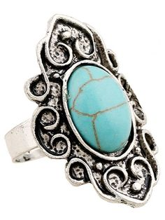 The high reputation site where you can find women's sexy clothes, dresses and accessories in great quality at a relatively lower market price. Green Turquoise, Turquoise Jewelry, Turquoise Bracelet, Star Ring, Imitation Jewelry, Cute Rings, Surprise Gifts, Shape Patterns, Emboss
