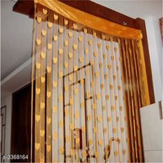 Curtains & Sheers Fashionable Net Polyester Door Curtains ( Pack Of 2 ) Material: Net Polyester Dimension ( L X W ): 7 ft x 4 ft Type: Stitched  Description: It Has 2 Pieces Of Door Curtains Work: Printed Sizes Available: 7 Feet, Free Size *Proof of Safe Delivery! Click to know on Safety Standards of Delivery Partners- https://ltl.sh/y_nZrAV3  Catalog Rating: ★3.9 (6478)  Catalog Name: Fashionable Net Polyester Door Curtains Combo Vol 1 CatalogID_466899 C54-SC1116 Code: 842-3368164-