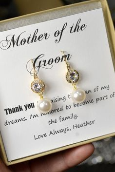 Mother of the Bride Gift Personalized Bridesmaids by thefabbridal3