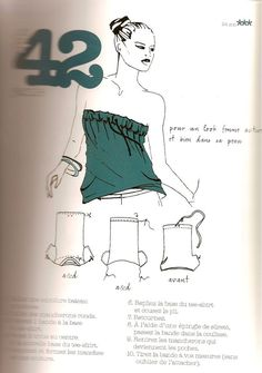 99 ways to cut a t-shirt / Custo tee-shirt Clothes Crafts, Sewing Clothes, T-shirt Refashion, Umgestaltete Shirts, Shirt Transformation, Diy Vetement, Diy Tops, Recycled T Shirts, Couture Sewing