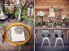 Bohemian Glam Wedding Inspiration