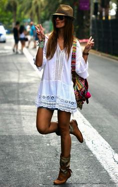 Inspirational Boho Style Outfits  The taste of Petrol and Porcelain (14)