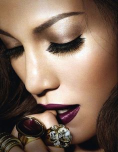 Plum lips for the holidays
