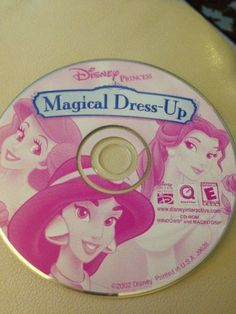 Disney Princess Magical Dress Up CD-ROM WIN 95/98/Me/XP Mac Age 5+ NEW