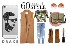 """""""Drake Inspired Style"""" by samoan72 ❤ liked on Polyvore featuring Yves Saint Laurent, Miss Selfridge, Alexander Wang, Charlotte Tilbury, MAC Cosmetics, Topshop, Casetify, L'Autre Chose, men's fashion and menswear"""