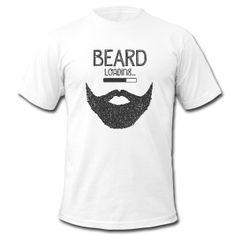 Beard Loading... Camisetas - Camiseta hombre de American Apparel