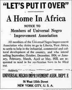 9470dfa5 Black American OURstory--Marcus Garvey Universal Negro Improvement  Association & African Communities League (UNIA & ACL) Back to Africa Black  Star Line ...