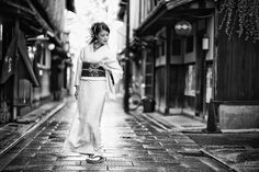 [ Passage of wind ]  #着物 #着物ポートレート #kimono #kyoto #京都 by you.iwata
