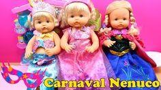 Carnaval en la Guardería Nenuco | Las Bebés Nenuco se disfrazan y maquillan de Las Princesas Disney - YouTube