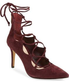 Vince Camuto 'Barsha' Lace-up Pump  (on sale now at Nordstrom!)