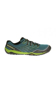 Merrell Trail Glove 3 Shoes Algiers Blue/Lime Green #camping #workout
