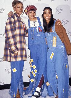TLC in overalls, flannels, and accessories