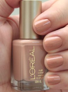 L'Oreal Collection Exclusive Nudes by Color Riche Nail Polish ...