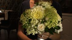 A bouquet I did this summer for a photoshoot at my friends jewellery store... I got to try on diamonds!!! :)
