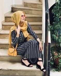 hijab and modest image Islamic Fashion, Muslim Fashion, Modest Fashion, Fashion Outfits, Hijab Style Dress, Hijab Outfit, Boho Dress, Hijab Style Tutorial, Beautiful Hijab