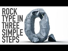 (9) EPIC rock type in 3 STEPS Cinema 4D tutorial - YouTube