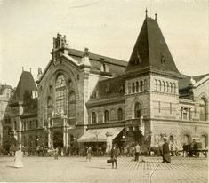 The Great Market Hall in Budapest, designed in 1897, by Samu Pécz. You may see similar roof tiles on other buildings by the same architect during your vist - the reform Church near Batthány Square is visible from the Fisherman's bastion, (in front of the parliament) and the National Archives building is beside the Vienna gate in the Buda Castle.
