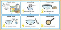 Teach your students all about Pancake Day with our range of Shrove Tuesday activities, including printable worksheets, word searches, recipes and more. Shrove Tuesday Activities, Pancake Recipe Ingredients, Pancake Day Shrove Tuesday, School Book Covers, No Egg Pancakes, Recipe Sheets, How To Make Pancakes, Recipe Girl, Food Crafts