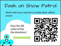 QR Codes & Robotics in Classroom STEM with Dash & Dot (Via the digital scoop)