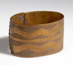 Angola | Bracelet from the Ngumbi (Humbe) people between Cunene and Coporolo-Tchilenges rivers | Brass  | ca. 1954