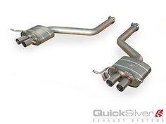 Quicksilver Bentley Continental Supersports/GT Speed Titanium Sport Rear Exhaust