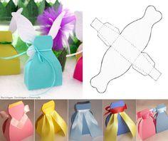 Princess dress paper bags