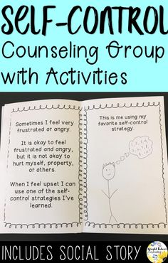 8 Week Self-Control Counseling Group for Elementary Students