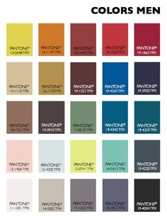 Lenzing Color Trends Autumn/Winter 2015/2016 Men