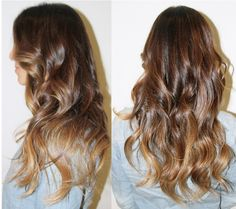 Brunette Ombre done right!