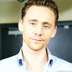 """""""Mr. Hiddleston, you are starting to damage my calm."""" (gif)"""