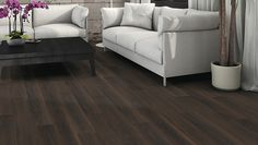HARO Laminate floor Plank 1-Strip Smoked Oak Agate authentic (Wood reproduction)