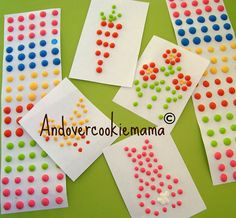 What to do with leftover royal icing.... use leftover royal icing to make dots and flower designs on parchment paper and let air dry for after decorating cakes and cupcakes in the future.  No need to waste ~ so love this!