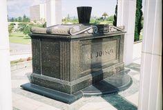 Asa Yoelson also known as Al Jolson, 1886-1950 (cause of death: Heart Attack) ~ Buried at Hillside Memorial Park, Culver City, California