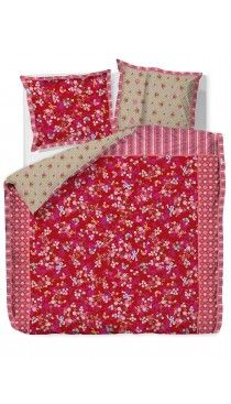 Chinese Blossom red duvet set By PiP Studio