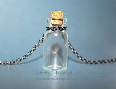 One Wish for Someone Special Dandelion Seed in a bottle