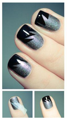 Diseño de uñas con esmalte escarchado - Trucos de Belleza