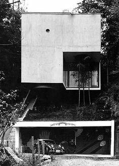 Blue Box House. Mayumi Miyawaki.  Tokyo, Japan. 1971