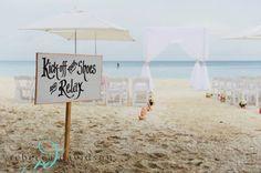 An Intimate Beach Wedding - Tropical Vows