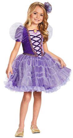 Tutu deluxe Rapunzel Traje - Trajes Princesa