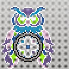 A beautiful perler dream catcher that I saw made but couldn't find a pattern. Sorry but this is not an original of mine just wanted to make one of my own.