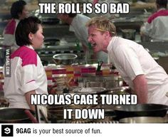Honey, read up a little on this chef Gordon Ramsey - reminds me of you and your language - but I know you'll appreciate the humor here even if you know nothing about the guy :)