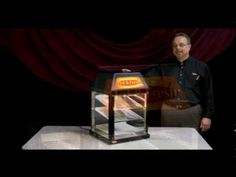 Hatco's Mini Display Warmer features hot air that is circulated throughout the entire cabinet, keeping cookies, wrapped sandwiches and other food products at ideal serving temperatures. Watch as Mark Ecker, Western Regional Sales Manager, showcases the MDW and its features & benefits.