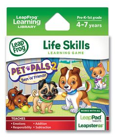 SALE $5.99 ~ Pet Pals 2: Life Skills Learning Game ~ Great birthday gift!!