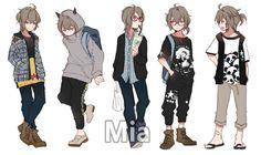 Resultado De Imagen Para Anime Boy Clothing