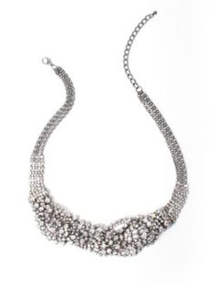 Cute necklace..  I wonder if it will go with my dress..  :-)